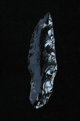 Pre Columbian Mayan Aztec Obsidian Dart Point or Arrowhead, East Central, Mexico