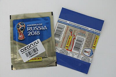 PANINI WORLD CUP 2018 RUSSIA   Russian packet with unique OZON.ru SCAN IT! label