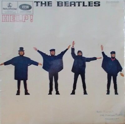 THE BEATLES - HELP. 1965 Ist PRESS. PMC1255 (XEX 549/550-2)