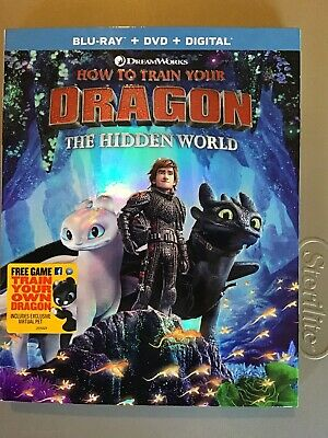 How To Train Your Dragon The Hidden World Blu-ray Dvd Digital Free Shipping!