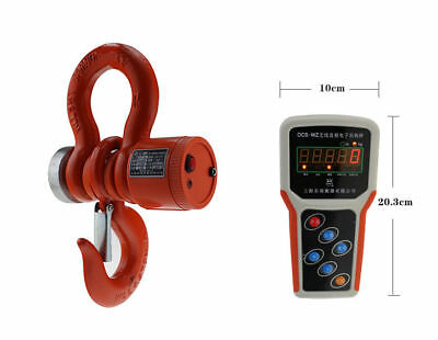 5000kg Digital Wireless Electronic Crane Scale 5T Industrial Hanging scale