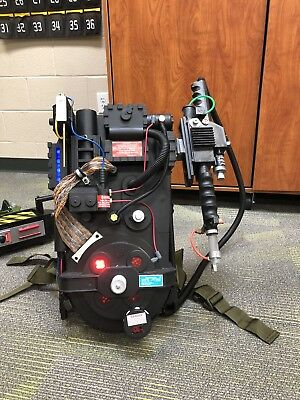 Ghostbusters Proton Pack Signed By Ernie Hudson with Trap Ecto Goggles Pke Meter