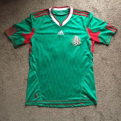 52b8738d986 Adidas Mexico National Home Jersey 2010 CHICHARITO  14 Soccer Futbol Size  Small