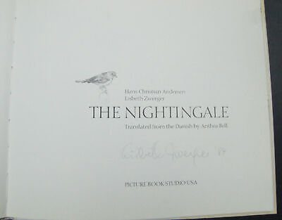 The Nightingale by Hans Christian Anderson & Lisbeth Zwerger - Signed Copy - HC