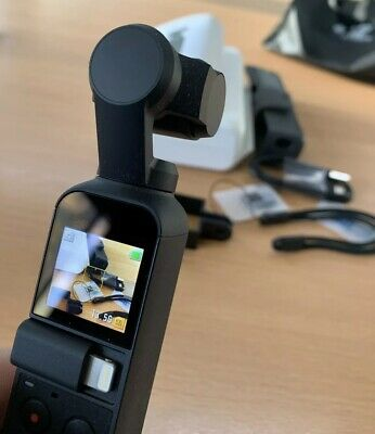 DJI Osmo Pocket 4K Camera Handheld with 3-Axis Gimbal With Remaining Warranty