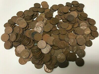 1 Roll Lincoln Wheat Penny Cent Circulated Unsearched 50 Coins Any Mint And Date