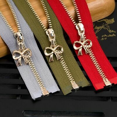 Metal Zipper For Sewing Eco Friendly Jackets Coat Zippers Zip Repair Kits DIY