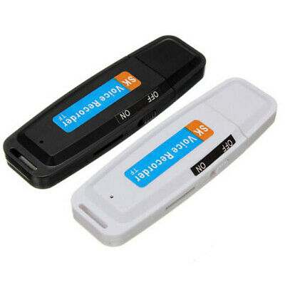 Voice Recorder Support TF Card Digital USB Mini Rechargeable U Disk Professional