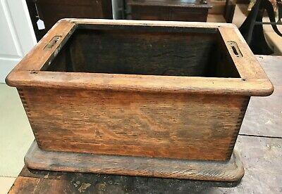 Edison Standard Model B Cylinder Phonograph Cabinet Bottom with Bed Plate Frame