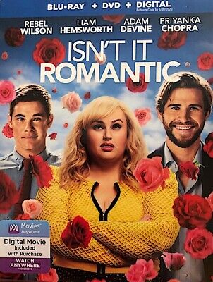 Isn't It Romantic, (Blu-ray/DVD/Digital,2018)