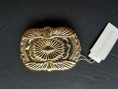 Vintage Dotty Smith Nwt Gold Tone Belt Buckle