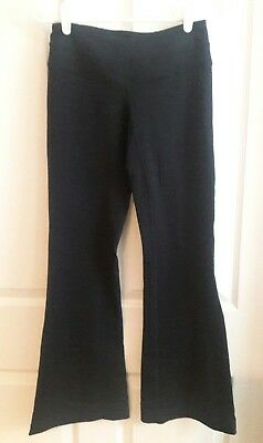 7eb8d27879dd1 Lucy Power Leggings Pants Women Sz XS Black Stretch Flared Fitted Fitness  Yoga