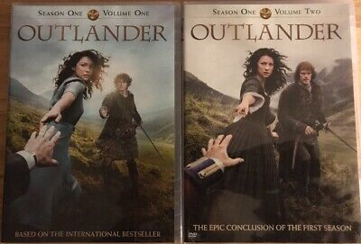Outlander: Complete Series Seasons 1 Vol.1 & 2 - 4 dvd set