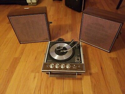 Vintage Portable Record Player: GE ***RARE***