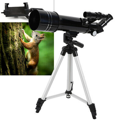 400x70mm Portable Refractive Astronomical Telescope With Tripod & Phone Adapter