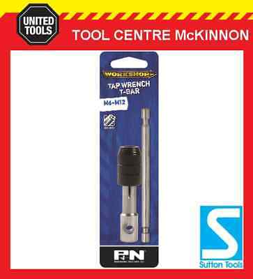 P&N By Sutton Tools Tap Wrench – T Handle Bar Type For M6 – M12 Taps