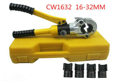 PEX Pipe Hydraulic Clamp Pipe Crimping Tool 16 20 25 32MM 10T