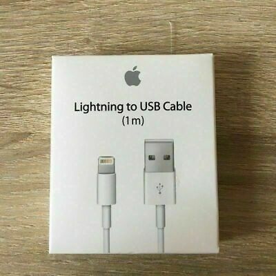 New Apple compatible iPhone X iPhone 6 S iPhone 7 iPhone 8 USB Charger Cable 1M