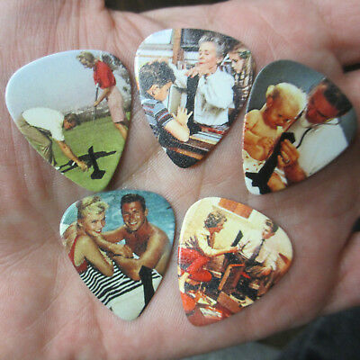 LED ZEPPELIN Collectors Guitar Pick Set 5-Lot; Presence ~The Object Collective~