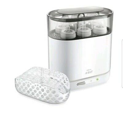 Philips AVENT 4-in-1 Electric Steam Sterilizer bottles baby bpa free new