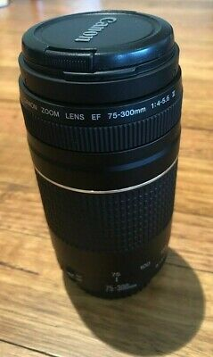 Canon EF 75-300mm f/4-5.6 III Lens - Good condition