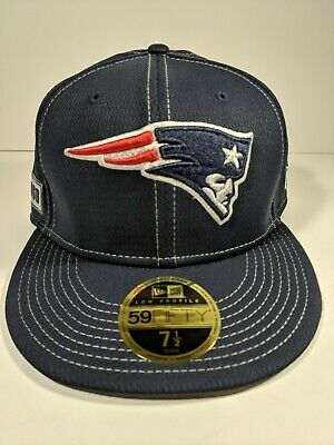 uk availability 2137f cb863 New England Patriots NFL New Era 59FIFTY Fitted Size 7 1 2 Low Profile Cap