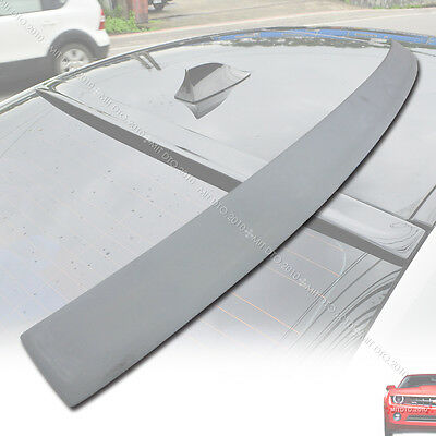 For BMW F10 5-Series 3D Type 4DR Roof Spoiler Rear Wing 2010+