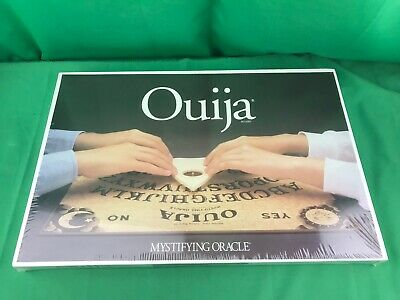 Ouija Paranormal Mystifying Oracle Board Game Talking Board Set NEW SEALED 1992