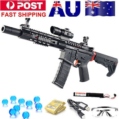Electric MKM2 V2 M4 Water Gel Ball Blaster Toy Gun Mag-fed 100% AUS Stock