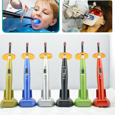 Dental Wireless Cordless Curing Light Lamp LED Style Oral Care Whitening Cure