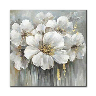 VV678 Modern large Hand painted Flowers and Plants oil painting canvas