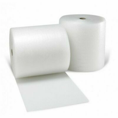4 ROLL SMALL BUBBLE WRAP 500mm & 300mm WIDE x 50 M LONG PACKAGING CUSHIONING