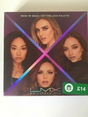 LMX By Little Mix Rock 'N' Gold Get The Look Palette  - New