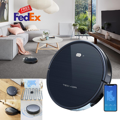Tesvor Robot Vacuum Cleaner X500 Alexa Accessories For Home For Floors Carpets