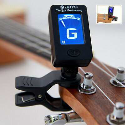 Chromatic Clip-On Guitar Tuner for Acoustic Guitar Bass Violin Ukulele