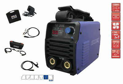 SPARTUS® EasyARC 205E TINY, PORTABLE MMA INVERTER welding machine