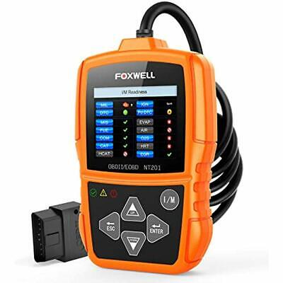 FOXWELL NT201 Auto OBD2 Scanner Check Car Engine Light Fault Code Reader II Tool