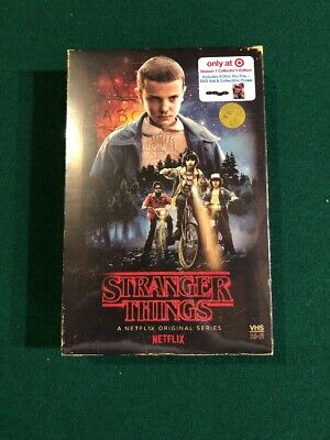 Stranger Things Season 1 Blu-ray VHS Style Collectors Edition