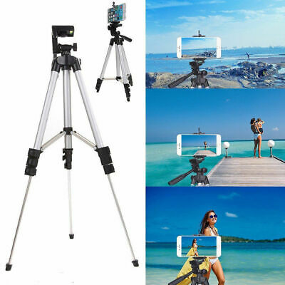 Stretchable Camera Tripod Stand Mount Holder for iPhone Samsung Phone + Bag UK