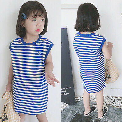 Newborn Toddler Baby kids Girl Causal T-Shirt  Dress Summer Outfit Clothes Set