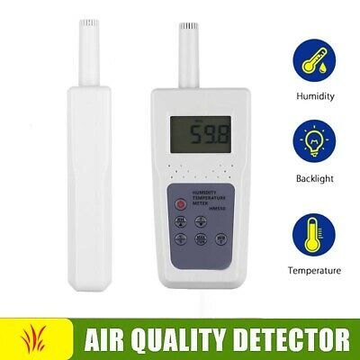 Digital Humidity Temperature Detector Hygrometer Moisture Analyzer Air Quality