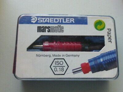 Original  Zeichenkegel  STAEDTLER marsmatic700 0,18 mm