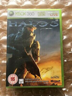 Brand New Factory Sealed Halo 3 Original Release For Xbox 360 Microsoft
