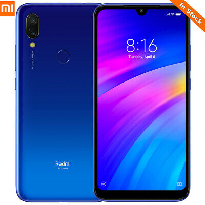 Global Version 6.26''HD Xiaomi Redmi 7 4G Android9.0 3/32GB Smartphone TOUCH ID