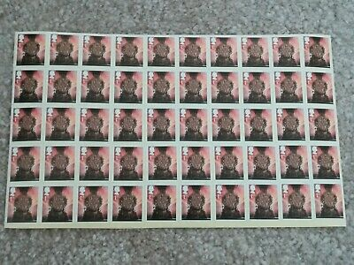 100 x 1st Class used Unfranked Stamps off Paper WITH ORIGINAL GUM Easy Peel