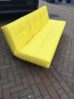 Modern Yellow Sofa / Sofa Bed Danish Design