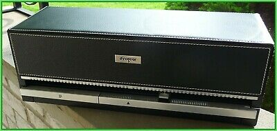 DiscGear Selector120 AUTO CD DVD HOLDER ORGANIZER Black Faux Leather
