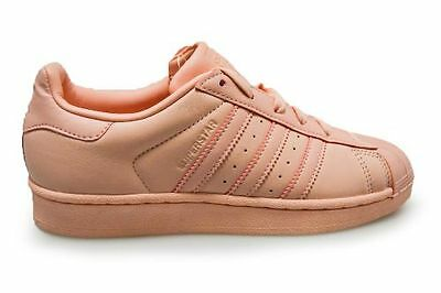 adidas Originals Superstar W White Tactile Rose Pink Women Shoes SNEAKERS BY2951 UK 5.5