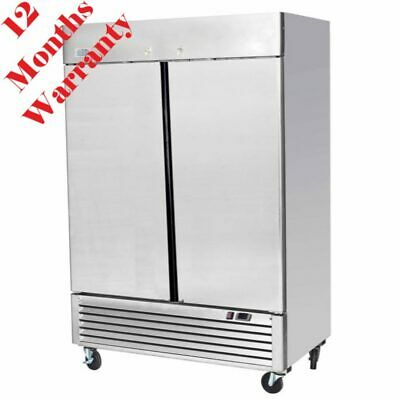 Commercial Fridge Double Door Upright Chiller Atosa Ice-A-Cool Ice8960