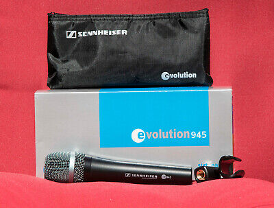 Sennheiser e945 Dynamic Supercardioid Handheld Microphone (3 Available)